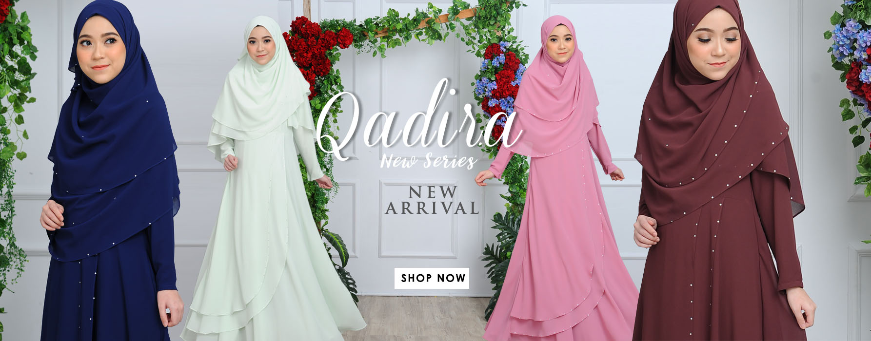 Modest Exclusive In Trend Muslimah Fashion Wear  By Fatin Suhana